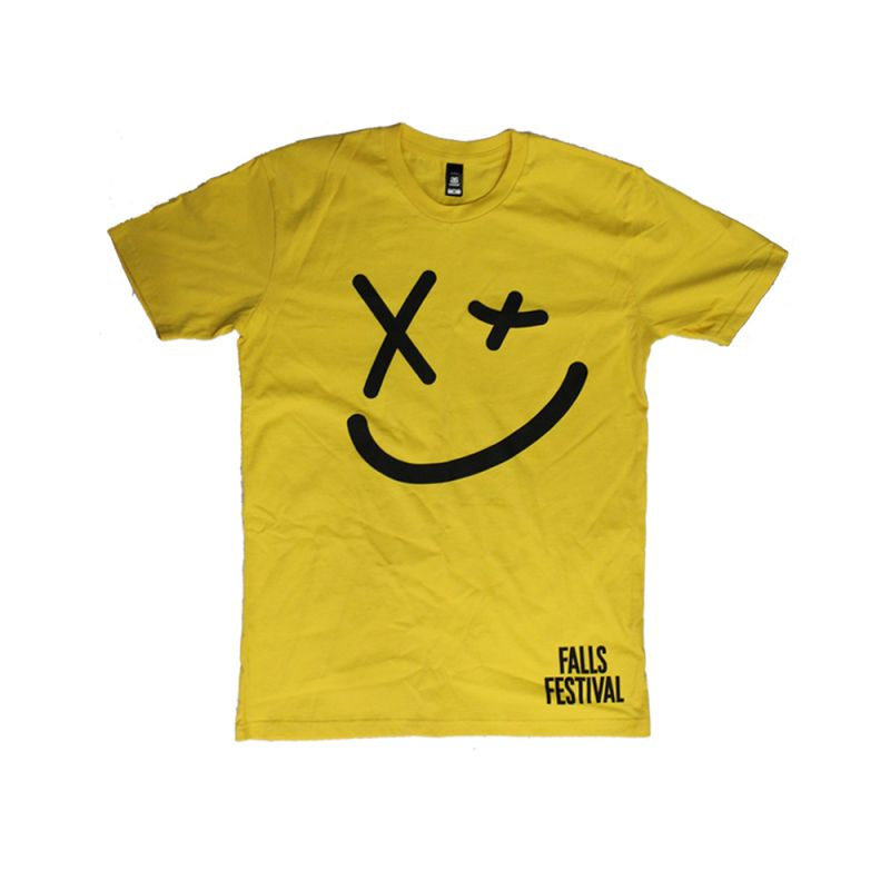 Smiley Event Yellow Tshirt